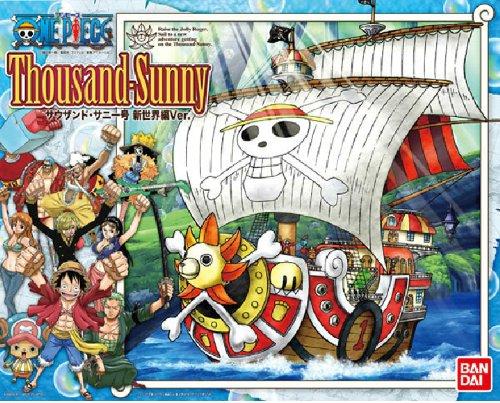 """ワンピースの二代目海賊船""""サウザンド・サニー号""""新世界Ver.バンダイ"""