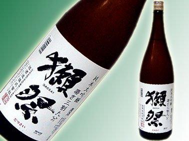 """酒好き(日本酒好き)な彼氏へのプレゼントは""""獺祭"""""""