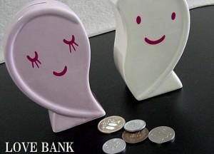 結婚に向けてお金を貯めよう・・・ぴったりな貯金箱見つけました
