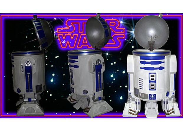 R2-D2ゴミ箱 ☆ スターウォーズ 【 STAR WARS 】