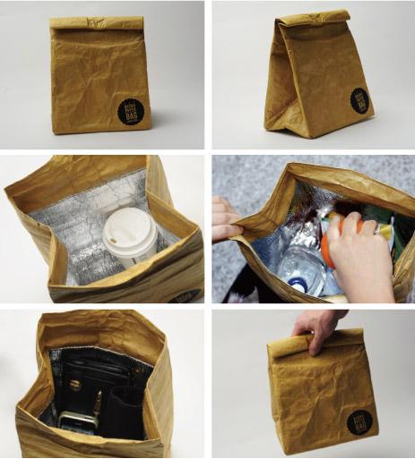 紙袋のような ランチ バック【 Luckies 】 brown paper bag の説明