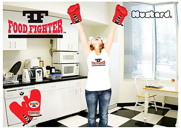 ボクシング グローブオーブンミット2P Food Fighter ミトン