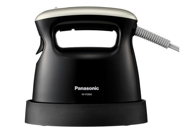 Panasonic 衣類スチーマー ブラック NI-FS360-K